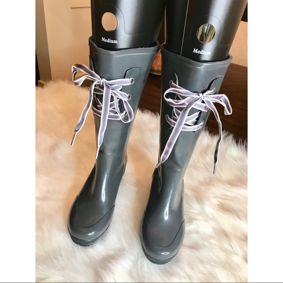 Sperry Top Sider Rain Boots Size 7